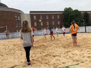 MS College sand vollyball